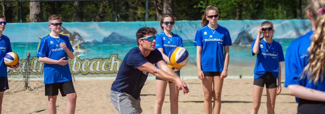 Talent beachvolleybal ontwikkeling